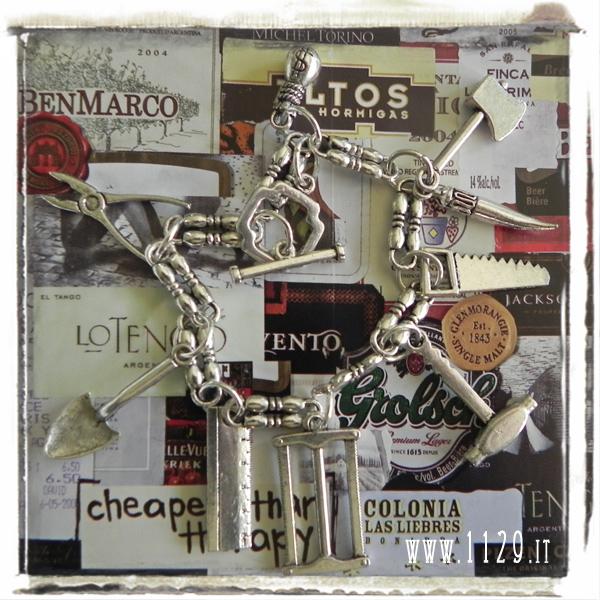 bracciale-ciondoli-attrezzi-tools-charms-chain-bracelet