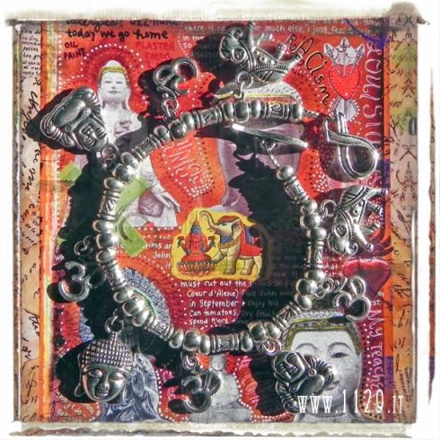 braccialetto-ciondoli-buddismo-buddha-charms-silver-bracelet